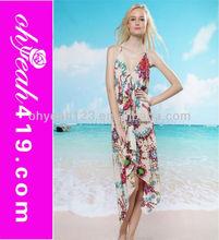 Fashion cotton beach summer dress