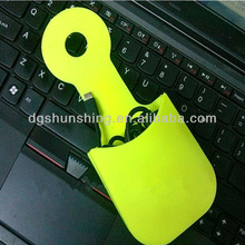 hot selling fashionable rubber charging stand for cell phone