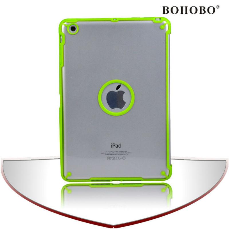 Tablet pc shell transparent case for ipad mini