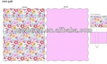 Floral quilt/ new design artwork