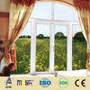 AFOL decorative round top pvc casement windows for home