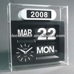NEW Modern Home Decorative Electronic Auto Flip Quartz Clock