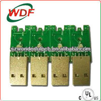 Prototype usb flash drive circuit board manufacture