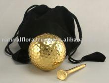 Gold Plated Golf Balls