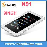 9inch Sanei N91 Elite Allwinner A13 512MB+8GB Tablet PC