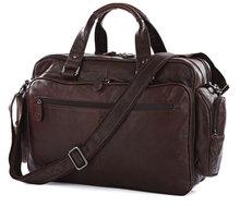 Hot Sale Guarantee 100% Genuine Leather Men's Briefcase Handbag Messenger Bag Laptop Backpack Bag # 7150Q