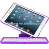 Keyboard Case For iPad Mini Detachable Bluetooth Keyboard Retractable Stand 360 Rotating Hard Shell Case
