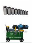 JBG-40K Rebar thread making machines&rebar parallel screw couplers(process rebar dia14-40mm)