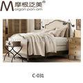 nouveau mobilier de chambre en bois massif lit en tissu modèles