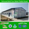 Coût de la construction modulaire portable entrepôt. maison préfabriquée