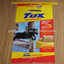 BOPP/PE laminated, stand-up, zipper Pet food bag