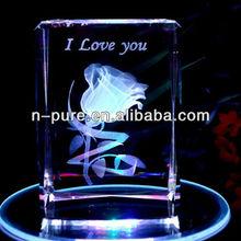 Fashion Modern LED Light Base Crystals Gifts