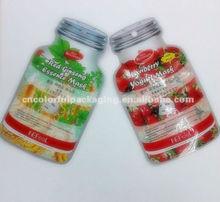 shaped bags/plastic cosmetic bag/plastic packaging