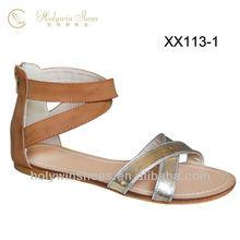 Ladies+Sandals 2013 Flat PU Sandals/Rubber Sandals