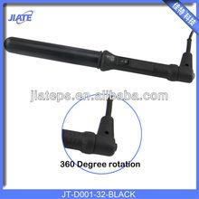 Black 32mm ceramic hair curling tongs model D001