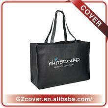 oversized black non woven tote bags