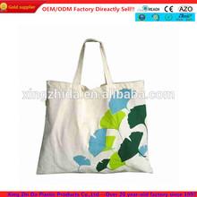 Cute trendy 100% cotton canvas tote bag