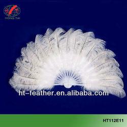 hot sale big dance ostrich feather fan