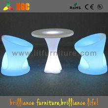 led illuminated tables&white outdoor lounge furniture