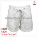 Mais novo chinês fabricante Plus Size mais recente moda feminina branco calças de praia