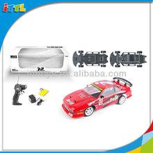 A507438 1:10 Scale PVC Steel Side Plate Drift Car RC Car Model