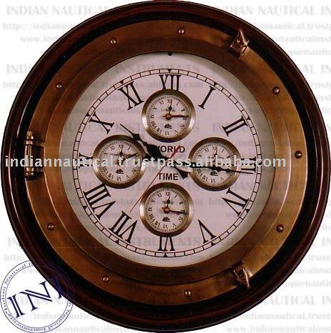 clock hipster decor wall clocks zone clock homes time zone