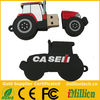 Promotional pvc 2d shape tractor usb sticks