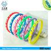 china manufacturer fashion diamond silicone bracelet,round thin silicone bracelet
