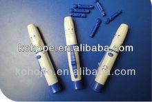 Lancing device blood lancet pen