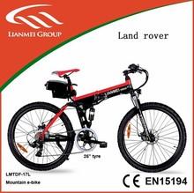 Popular Mountain Electric bike CE/EN15194 Certificated LMTDF-17L