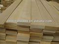 Betulla bianca/teak massello di legno s4s kd piallato segati con certificato fsc