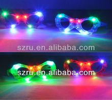 LED Fashion Sunglasses/glow light glasses