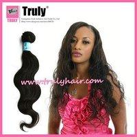 """Brazilian virgin hair weaving, 16"""" body wave, no synthetic hair"""