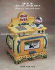Ceramic Cookie Jar Keebler Magic Oven