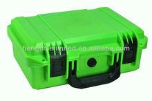 Green Waterproof case in size 300x200x120mm