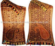 100% de cachemira bufanda del pashmina chales&