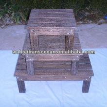 Children's stool foot stool outdoor wooden bench wooden garden bench