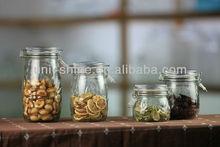 Glass clip lid jars manufacturer