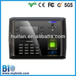 Fingerprint Web Based boimetric camera time clock (iclock700)
