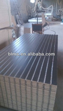 furniture grade/groove/wood trapezoidal Slotted Mdf