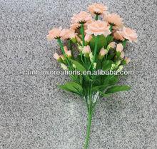 33 flores hibiscus rosa aritificial flor