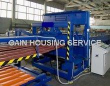 Steel & Aluminium Roofing Step Tile Manufacturing Machine