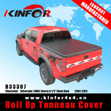 retractable pickup bed covers for Chevrolet Silverado /GMC Sierra 6 1/2' Short Bed Model 2007-2011