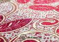 Chenille Jacquard Floral têxtil tecido para cortinas