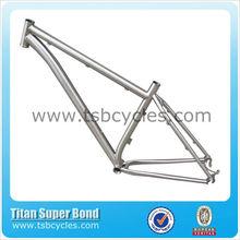 "titanium mtb 29"" frame Curving Down tube TSB-ODM1301"