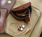 Men Leather Jewelry Purse for Travel