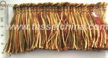 5cm Polyester Brush Chainette Fringe For Sofa Decor