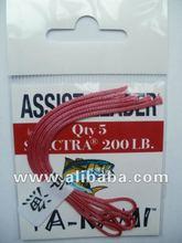Assist Hook Loops, Vertical Jigging Hook Loops