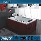 HS-B298 indoor one person hot tub massge bathtubs with pop-up speaker