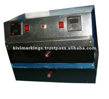 Rubber stamp machine